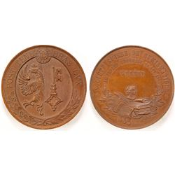 Swiss Numismatic Society Medal, 1890