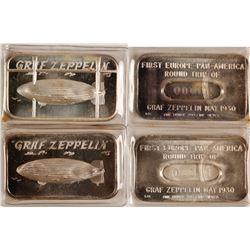 2 Graf Zeppelin Silver Bars