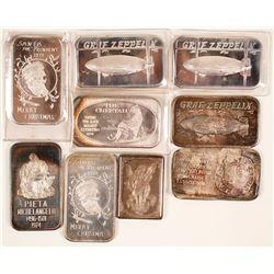 Nine Silver Bars