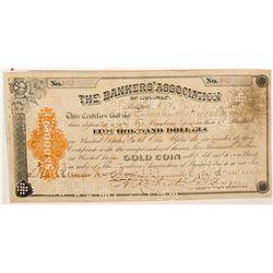 Certificate of Deposit, Banker's Assoc. Of Buffalo