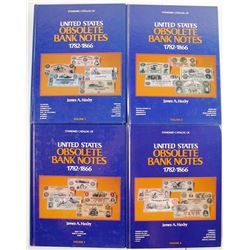 Haxby- Obsolete Bank Notes. 4 Volumes.