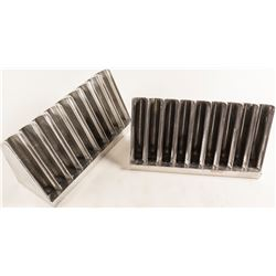 Casino Craps Table Chip Racks (2)