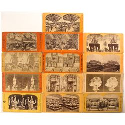 1876 Centennial International Exhibition Stereoview Collection
