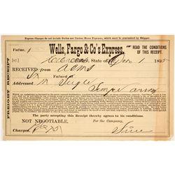 Wells Fargo & Co's Express Receipt, Holbrook, AZ