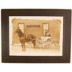 """""""Wells Fargo & Co. Express"""" Office Photograph"""