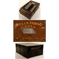 Original Wells Fargo Comptometer