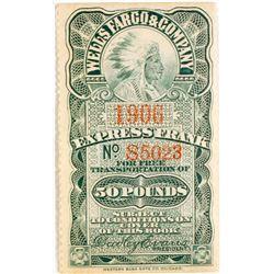 Rare Wells Fargo Stamp