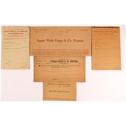 Unused Wells Fargo Envelopes and Note Pads