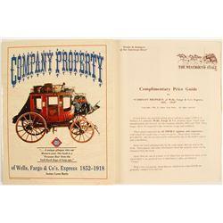 Wells Fargo & Co., Express, Company Property Book