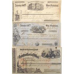 San Francisco Gold Rush Exchange, COD, & Warrant