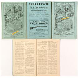 """Expressman's Monthly"" Including Volume 1, Number 1"