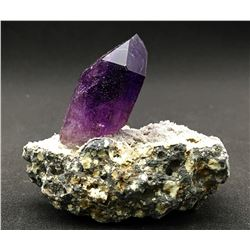 Quartz v. Amethyst from Namibia