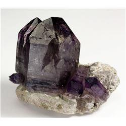 Quartz v. Amethyst from Namibia