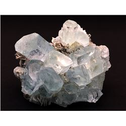 Beryl v. Aquamarine and Muscovite from Pakistan