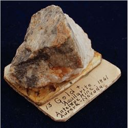 Antelope Mine High grade Specimen