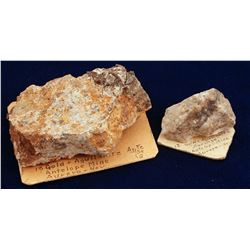 Antelope Mine Ore Specimens