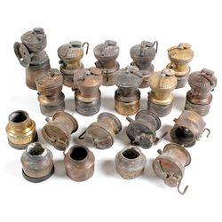 Autolite Carbide Incomplete Lamps