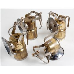Three and a Half Butterfly Carbide Lamps