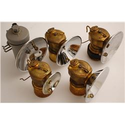 5 Choice Justrite Carbide Lamps