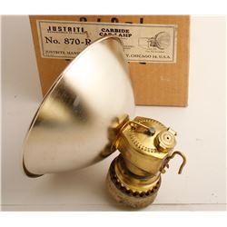 Mint Justrite 870-R Carbide Lamp