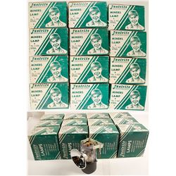 Justrite #2-500 Carbide Lamps in Original Boxes (12)