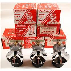 Justrite No. 2-500 NIB Carbide Lamps (10)
