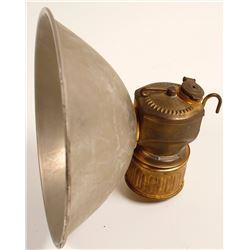 Justrite No. 2-977 Carbide Lamp in Original Box