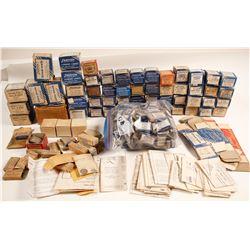 Dozens of Small Empty Justrite Boxes