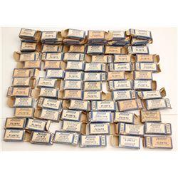 Empty Justrite Carbide Flint Boxes