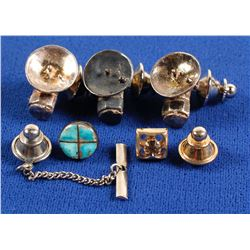 Sterling Silver Miner Lamp Lapel Pins and More