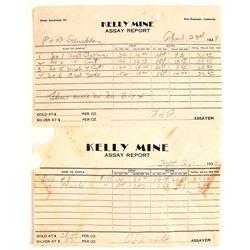 Kelly Mine Assay Reports (2)