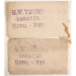 H.W. Young Assayer Canvas Bags