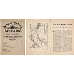"""""""Alaska and Its Gold Fields, and How to Get There"""" (1897 Newspaper)"""