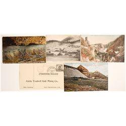 Alaska Mining Postcards