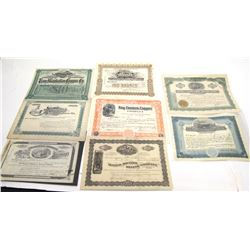Pinal County Mining Stock Certificate Collection