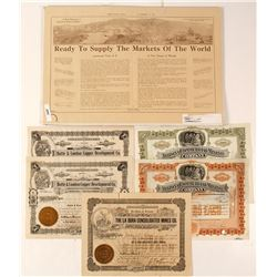 Arizona Mining Stock Certificates and Promotions
