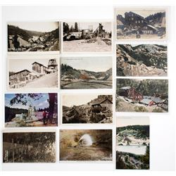 Nevada City Mining Postcards
