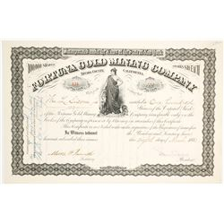 Fortuna Gold Mining Co. Stock Certificate