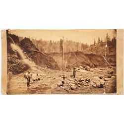 Red Bluff, CA Hydraulic Mining Cabinet Card