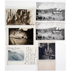 Tuolumne County Mining Postcards