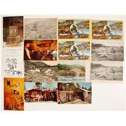 California General Mining Postcards