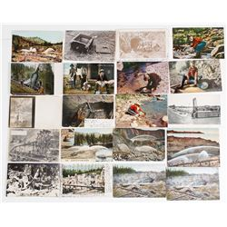 California Mining Postcard Set