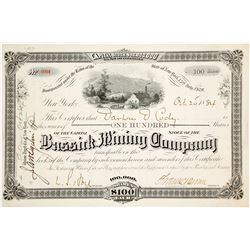 Bassick Mining Company Stock Certificate