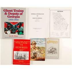 Georgia Gold Books(4)