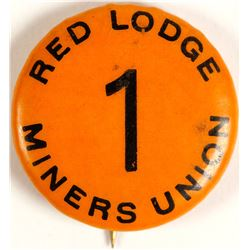 Red Lodge Miners Union Pin-Back Button