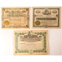 Daisy Mining Area Stock Certificates