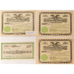 Great Bend Mining Stock Certificates