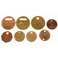 Nevada Consolidated Co. Equipment Tags