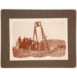 Nevada Family Mining Scene