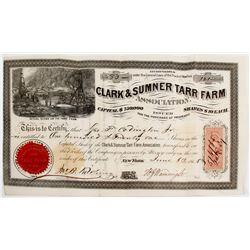 Clark & Sumner Tarr Farm Oil Stock